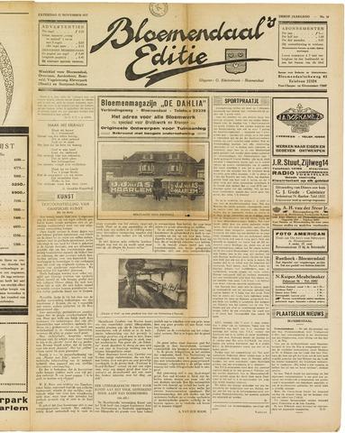 Bloemendaal's Editie 1927-11-12