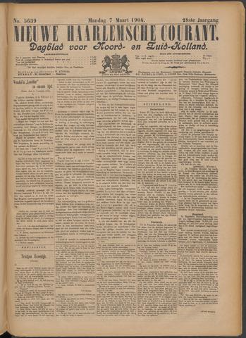 Nieuwe Haarlemsche Courant 1904-03-07
