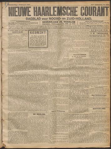 Nieuwe Haarlemsche Courant 1917-02-01
