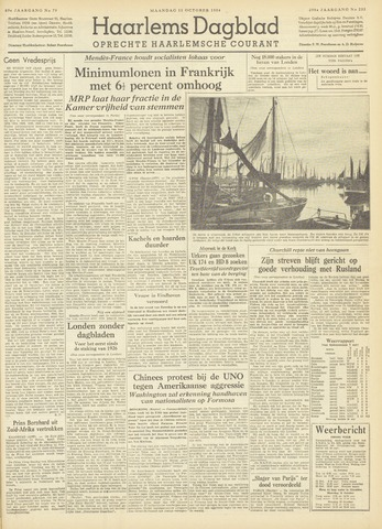 Haarlem's Dagblad 1954-10-11