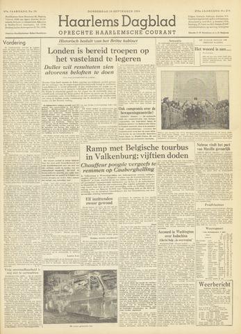 Haarlem's Dagblad 1954-09-30