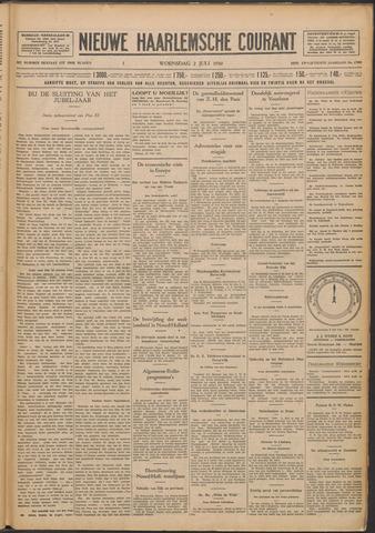 Nieuwe Haarlemsche Courant 1930-07-02