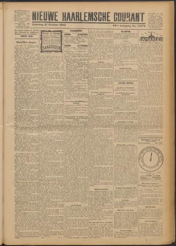 Nieuwe Haarlemsche Courant 1922-10-21