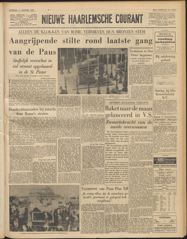 Nieuwe Haarlemsche Courant 1958-10-11