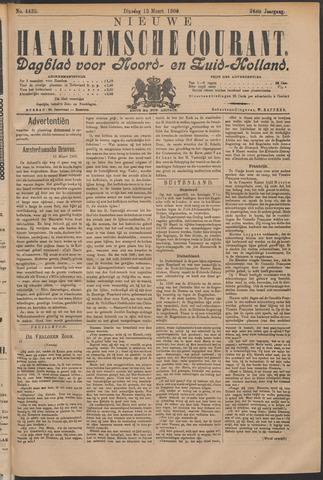 Nieuwe Haarlemsche Courant 1900-03-13