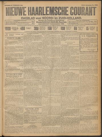 Nieuwe Haarlemsche Courant 1914-02-10