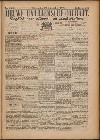 Nieuwe Haarlemsche Courant 1904-09-22