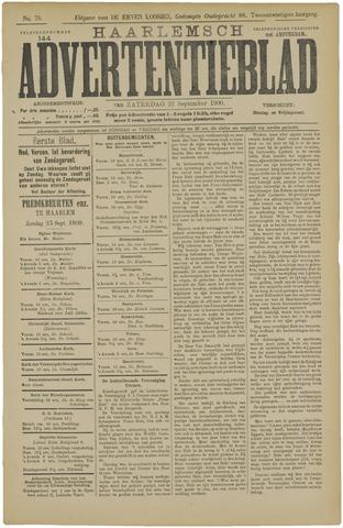 Haarlemsch Advertentieblad 1900-09-22