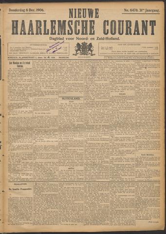 Nieuwe Haarlemsche Courant 1906-12-06