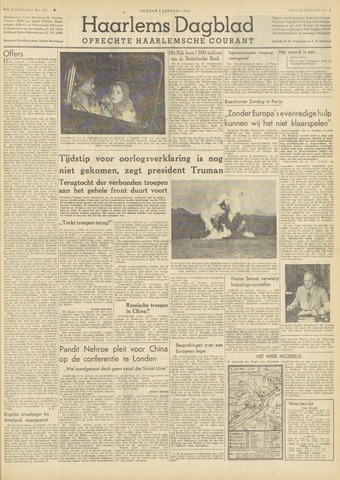 Haarlem's Dagblad 1951-01-05