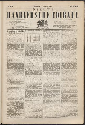 Nieuwe Haarlemsche Courant 1885-02-12