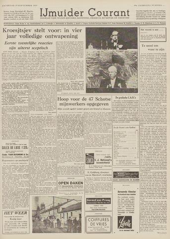 IJmuider Courant 1959-09-19