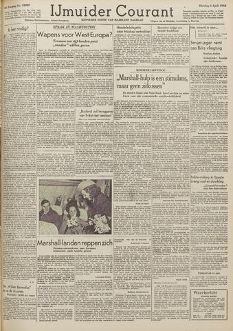 IJmuider Courant 1948-04-06