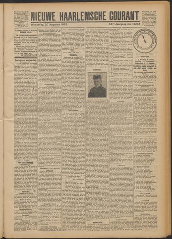 Nieuwe Haarlemsche Courant 1922-08-30