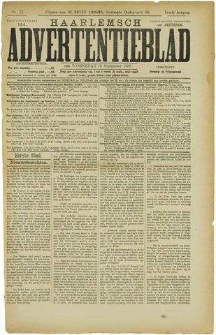 Haarlemsch Advertentieblad 1888-09-12