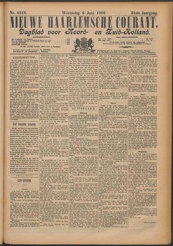 Nieuwe Haarlemsche Courant 1906-06-06