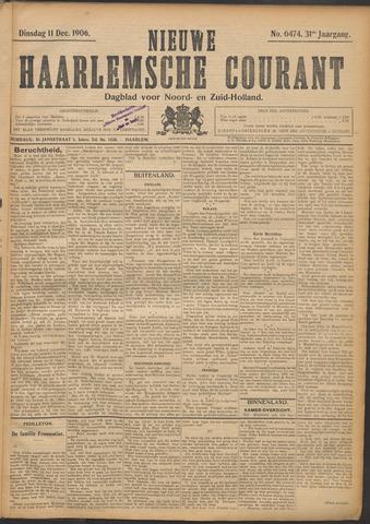 Nieuwe Haarlemsche Courant 1906-12-11