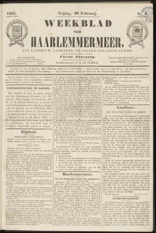 Weekblad van Haarlemmermeer 1863-02-20