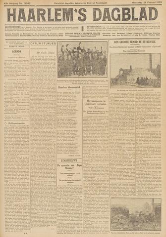 Haarlem's Dagblad 1926-02-24