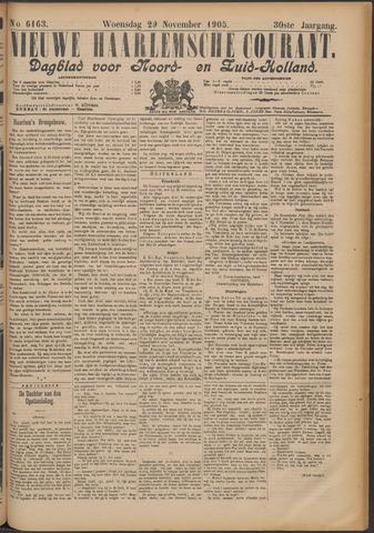 Nieuwe Haarlemsche Courant 1905-11-29