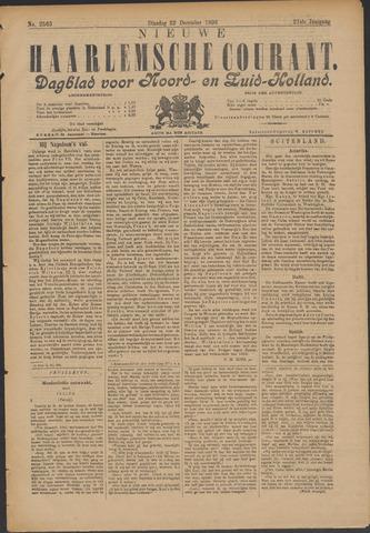 Nieuwe Haarlemsche Courant 1896-12-22