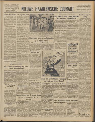 Nieuwe Haarlemsche Courant 1950-11-11