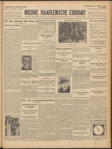 Nieuwe Haarlemsche Courant 1934-04-18
