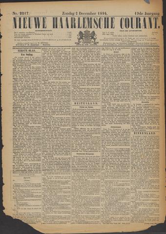 Nieuwe Haarlemsche Courant 1894-12-02