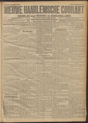 Nieuwe Haarlemsche Courant 1914-12-11