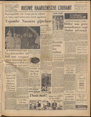 Nieuwe Haarlemsche Courant 1964-10-08