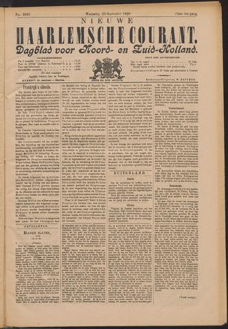 Nieuwe Haarlemsche Courant 1898-09-28