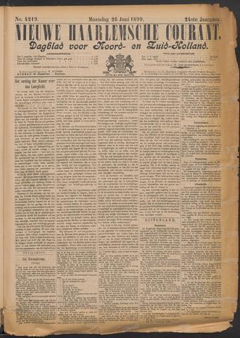 Nieuwe Haarlemsche Courant 1899-06-26