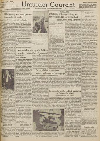 IJmuider Courant 1948-02-20
