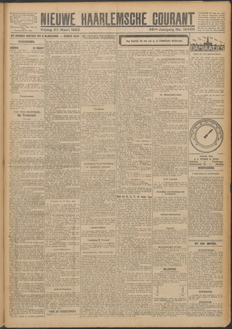 Nieuwe Haarlemsche Courant 1923-03-30