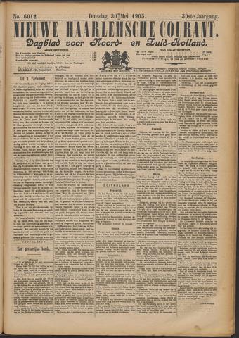 Nieuwe Haarlemsche Courant 1905-05-30
