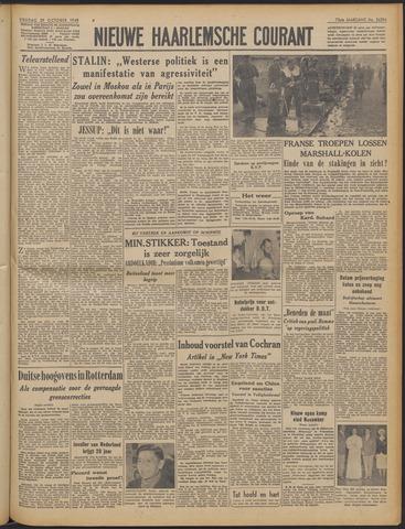 Nieuwe Haarlemsche Courant 1948-10-29