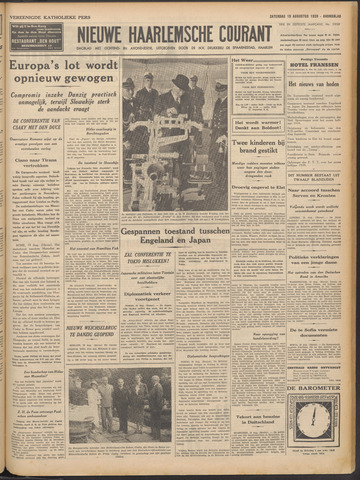 Nieuwe Haarlemsche Courant 1939-08-19