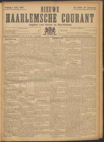 Nieuwe Haarlemsche Courant 1907-02-01