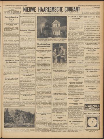 Nieuwe Haarlemsche Courant 1936-02-10