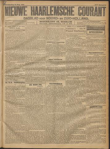 Nieuwe Haarlemsche Courant 1916-08-10