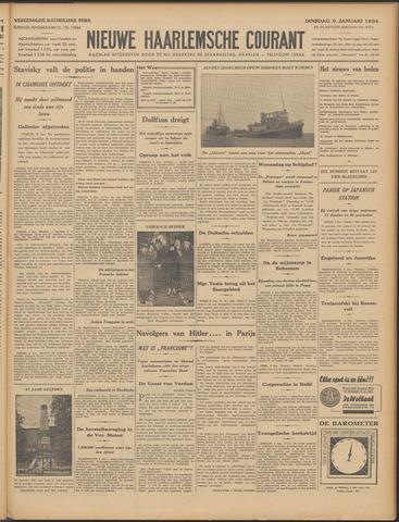 Nieuwe Haarlemsche Courant 1934-01-09