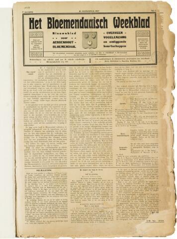 Het Bloemendaalsch Weekblad 1907