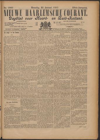 Nieuwe Haarlemsche Courant 1905-01-23