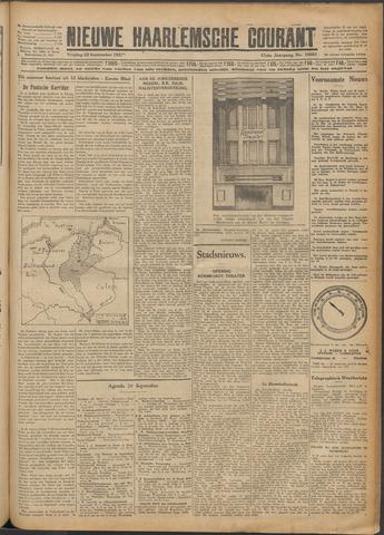 Nieuwe Haarlemsche Courant 1927-09-23