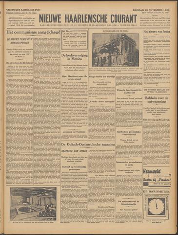 Nieuwe Haarlemsche Courant 1933-11-28