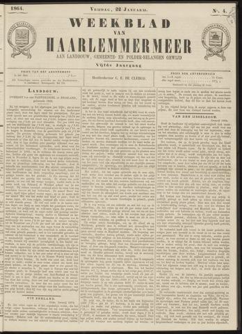 Weekblad van Haarlemmermeer 1864-01-22