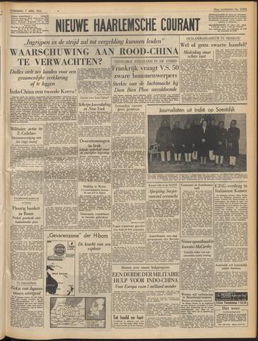Nieuwe Haarlemsche Courant 1954-04-07