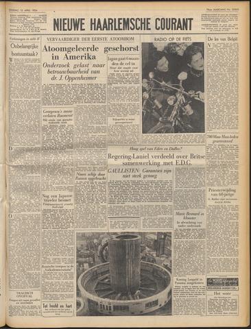 Nieuwe Haarlemsche Courant 1954-04-13