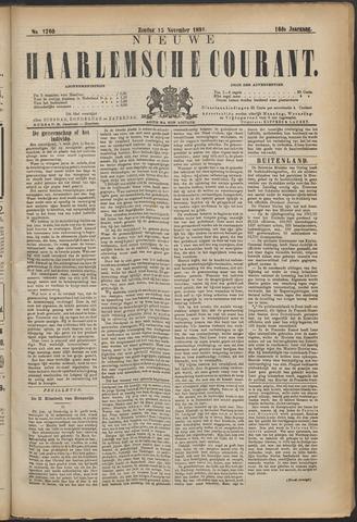 Nieuwe Haarlemsche Courant 1891-11-15