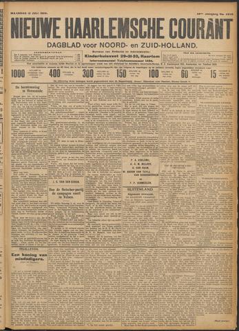 Nieuwe Haarlemsche Courant 1909-07-12